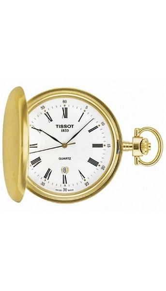 Hodinky Tissot–T-Pocket– SAVONNETES QUARTZ T83.4.553.13