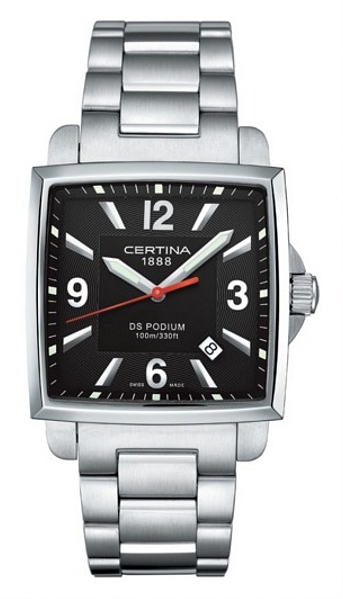 Hodinky Certina–Certina Gent Quartz–DS PODIUM SQUARE C001.510.11.057.00