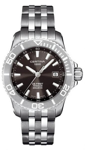 Hodinky Certina–Certina Gent Quartz–DS FIRST C115.7184.12.61