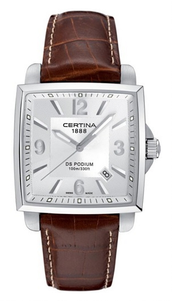 Hodinky Certina–Certina Gent Quartz–DS PODIUM SQUARE C001.510.16.037.01