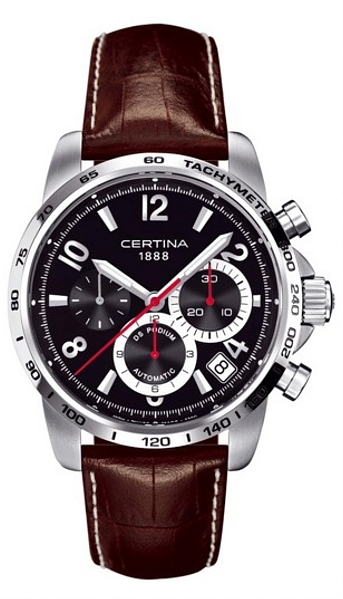 Hodinky Certina – Certina Gent Automatic – DS PODIUM CHRONO VALGRANGES C001.614.16.057.00