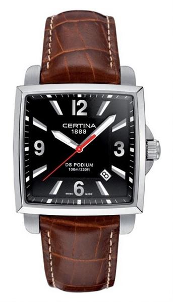 Hodinky Certina–Certina Gent Quartz–DS PODIUM SQUARE C001.510.16.057.01
