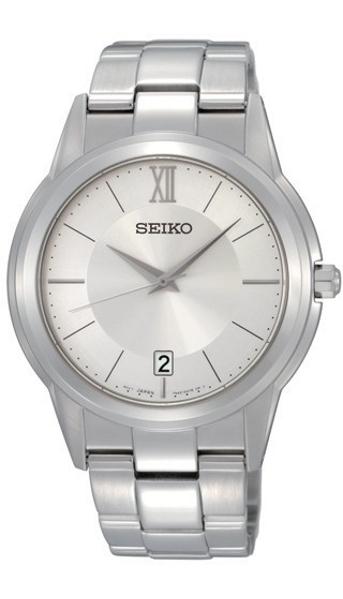 Hodinky Seiko–Seiko pánské a dámské kovový náramek– SGEF41P1