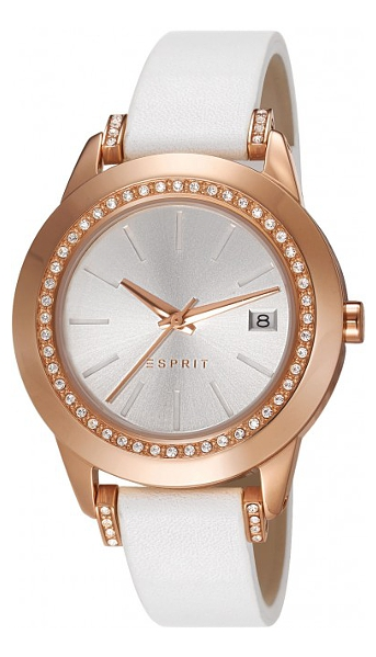 Hodinky Esprit – Esprit Night Out – Luxe Spark Rosegold White  ES106512003