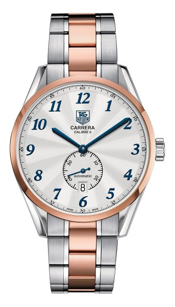 Hodinky TAGHeuer – Carrera – Automatic Watch WAS2153.BD0734