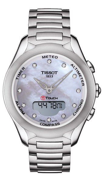Hodinky Tissot – Touch Collection – T-TOUCH LADY SOLAR T075.220.11.106.00