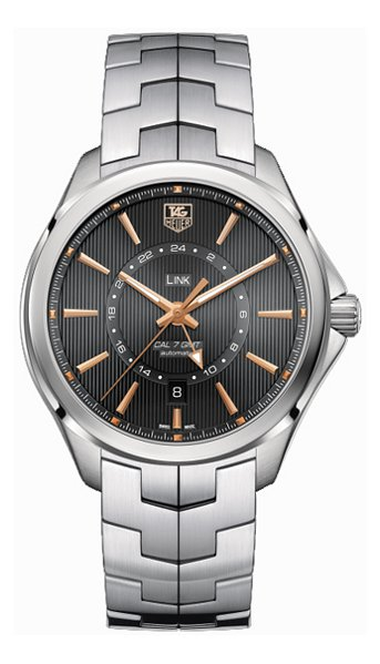 Hodinky TAGHeuer – Link – CALIBRE 7 GMT AUTOMATIC WATCH 42 MM WAT201C.BA0951