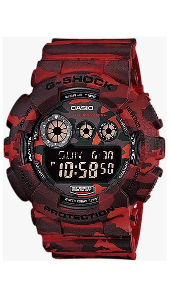 Hodinky Casio–G - Shock– GD 120CM-4E