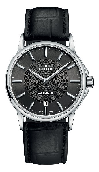 Hodinky Edox – Les Bémonts  – Ultra Slim 57001 3 GIN