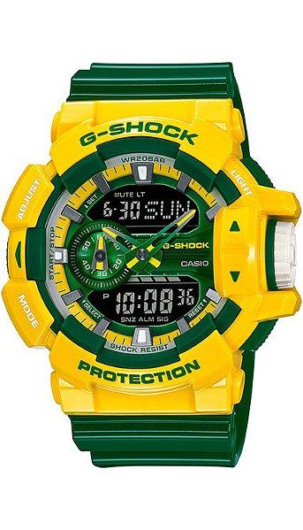 Hodinky Casio–G - Shock– GA 400CS-9A