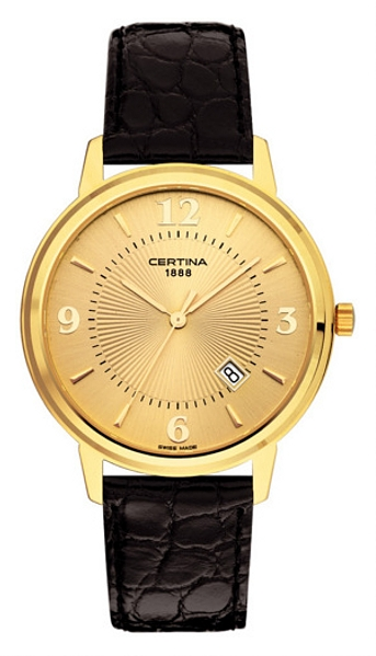Hodinky Certina–Certina Gent&Lady Gold–URBAN CLASS C113.9200.68.36