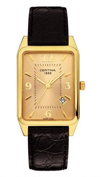 Hodinky Certina–Certina Gent&Lady Gold–URBAN CLASS C113.9171.68.36
