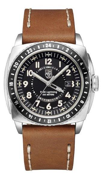 Hodinky Luminox Swiss–AIR–P-38 LIGHTNING GMT 9420 SERIES 9427