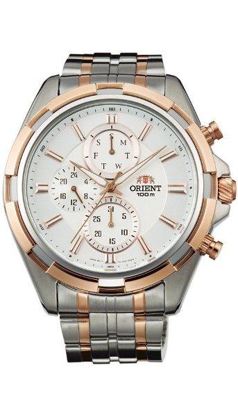 Hodinky Orient–Quartz Chronograph– FUY01001W