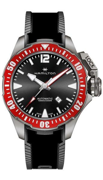 Hodinky Hamilton–Khaki Navy–KHAKI NAVY FROGMAN AUTO H77805335