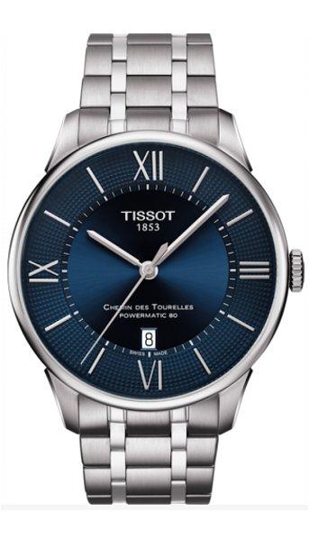 Hodinky Tissot–T-Classic–CHEMIN DES TOURELLES AUTOMATIC GENT T099.407.11.048.00