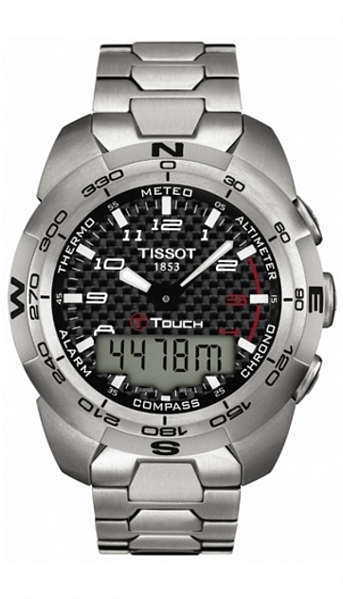 Hodinky Tissot – Touch Collection – T - TOUCH EXPERT T013.420.44.202.00