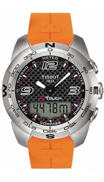 Hodinky Tissot–Touch Collection–T - TOUCH EXPERT STEEL T013.420.17.207.00