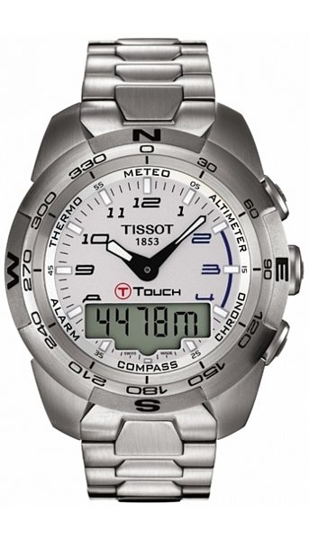 Hodinky Tissot–Touch Collection–T - TOUCH EXPERT STEEL T013.420.11.032.00